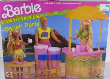 1990 Hawaiian Pool set Playset
