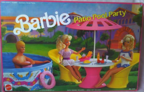 1990 PATIO POOL PARTY BARBIE