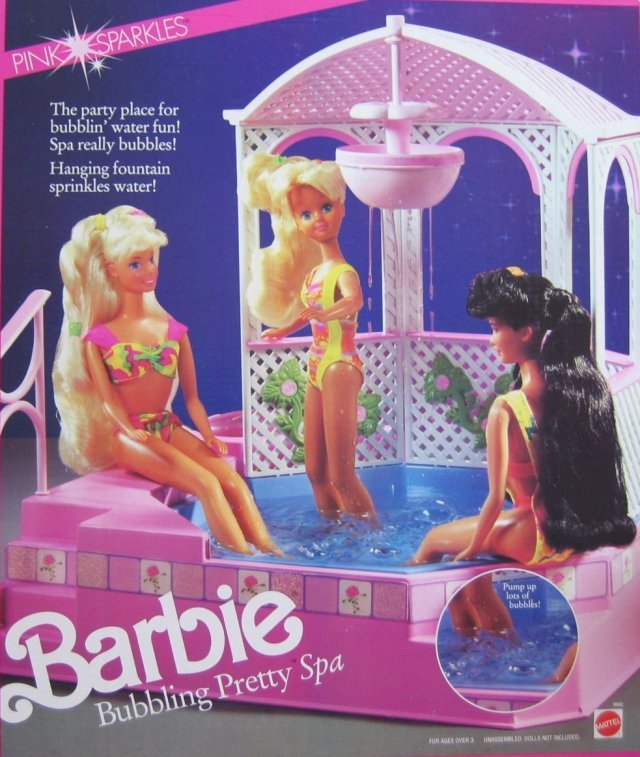 1991 Barbie Bubbling Pretty Spa