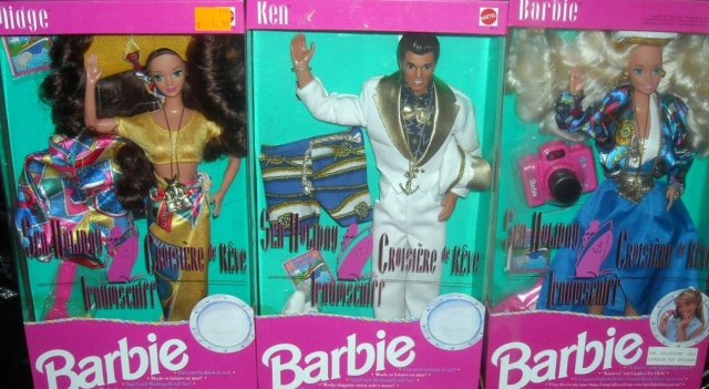 1992 SEA HOLIDAY BARBIE