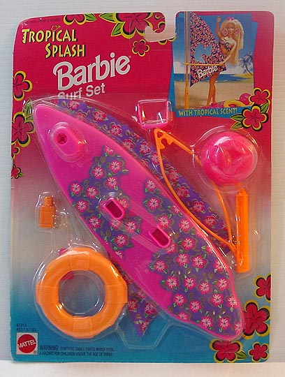 1994 Tropical Splash BARBIE Surf Set
