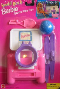 1995 Barbie Sparkle Beach Floatin' Fun ( Arco Toys - Mattel)