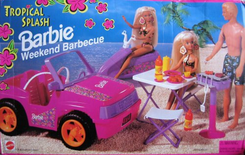 1995 Tropical Splash Barbie Weekend Barbecue (Arco Toys - Mattel)