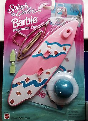 1996-BARBIE-SPLASH-AND-COLOR-WINDSURFING-FUN