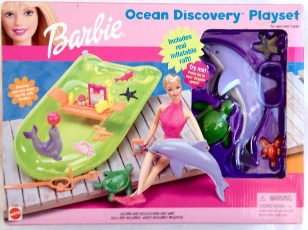 1999 Barbie Ocean Discovery Playset