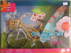 2005 California Girl Barbie, Bicycle