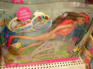 2008 2008 Barbie Surfs-Up Color Change Diver - Teresa nrfb
