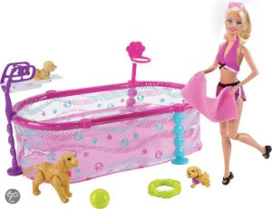 2010 Barbie Puppie Swim School