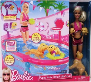 2010 Barbie® Puppy Swim School with Pool!