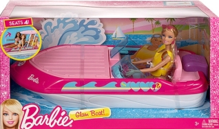 2013 Barbie Glam Boat