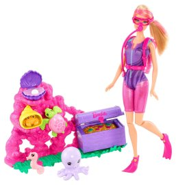 2014 Barbie I Can Be Ocean Treasure Explorer Doll Playset flyer