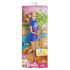 2014 Barbie I Can Be SeaWorld Wildlife Rescuer