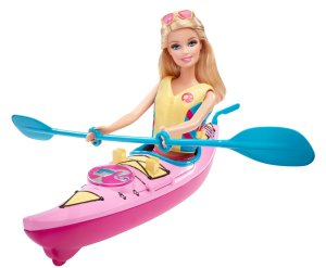 2014 Barbie On The Go Kayak flyer