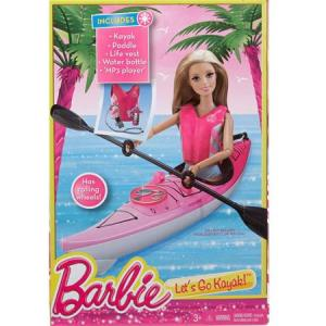 2015 Barbie On-The-Go Kayak