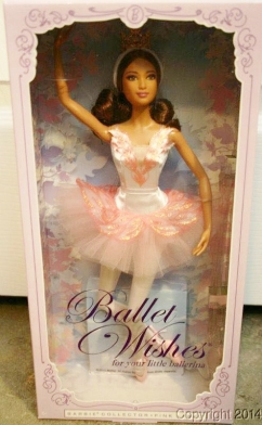 2016 Ballet Wishes Barbie doll h