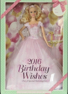 2016 Barbie Birthday Wishes
