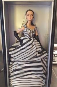2016 Chiffon Ball Gown Barbie® Doll box
