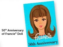 2016 Francie doll