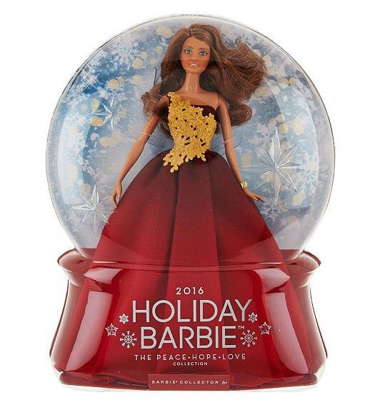 2016 Holiday Barbie Brunette