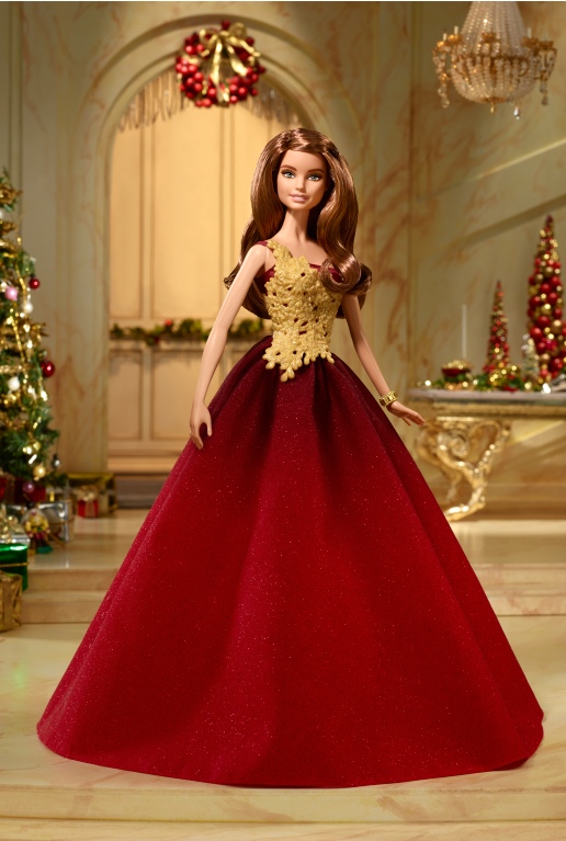 2016 Holiday Barbie™ Doll brunette flyer
