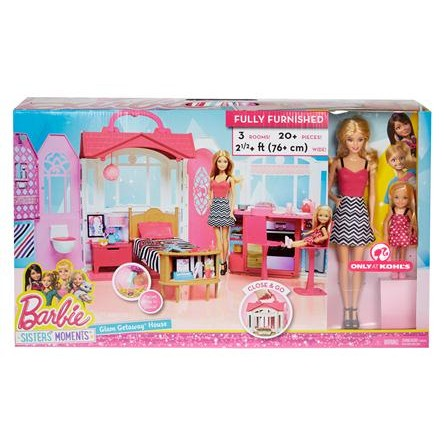 2016 Barbie Barbie/Sister Glam House