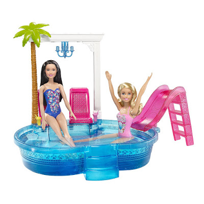 2016_Barbie_Glam_Pool_Beach_Raquelle_Doll set