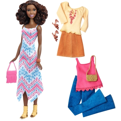 45 Boho Fringe Doll & Fashions - Tall