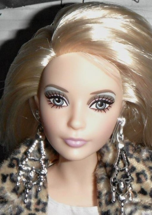Andy Warhol Barbie doll face