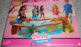 Barbie Beach Fun Pool n