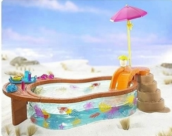 Barbie Beach Fun Pool