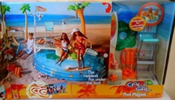 Barbie California Girl Pool Giftset n