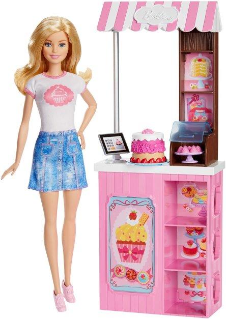 Barbie Careers Bakery Shop Playset blonde
