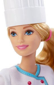 Barbie Careers Chef Doll face