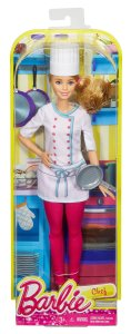 Barbie Careers Chef Doll nrfb
