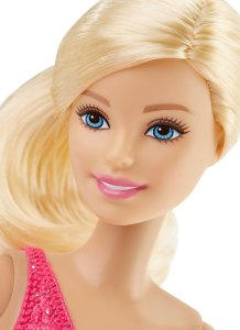 Barbie Careers Ice Skater Doll face