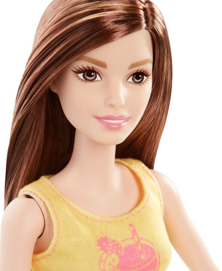 Barbie Careers Juice Bar Playset With Brunette Doll Face
