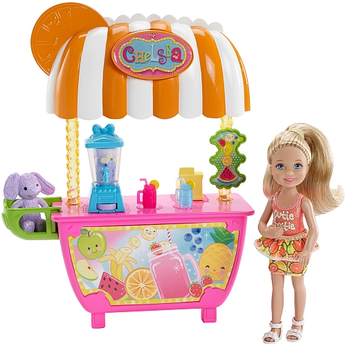 Barbie - Chelsea & Smoothie Stand