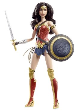 Barbie Collector Batman v Superman Dawn of Justice Wonder Woman Doll flyer