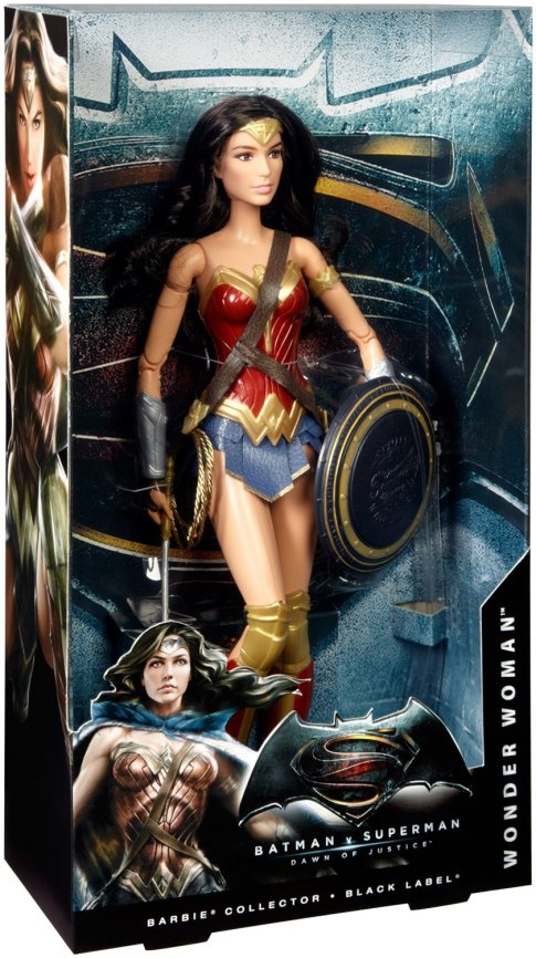 Barbie Collector Batman v Superman Dawn of Justice Wonder Woman Doll NRFB