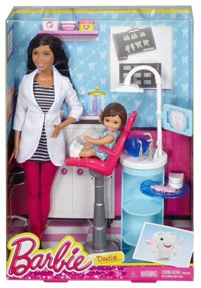 Barbie Dentist Doll & Playset nrfb