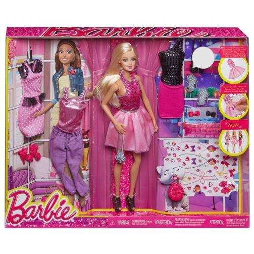 Barbie Doll Fashion Gift Set nrfb