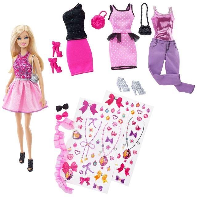 Barbie Doll Fashion Gift Set