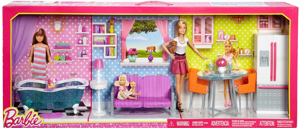 Barbie Doll Furniture Giftset Nrfb Barbie Doll Friends And Family