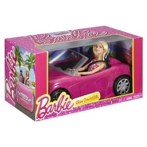 Barbie Doll & Glam Convertble NRFB