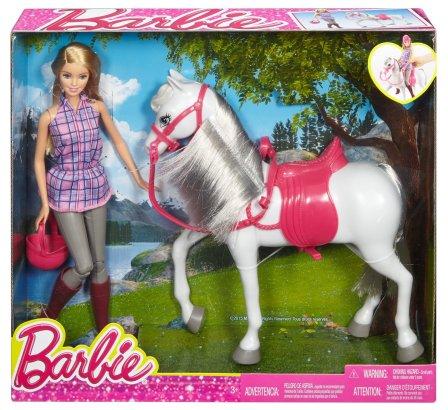 Barbie Doll & Horse NRFB