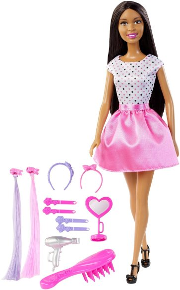 Barbie Doll with Hair Accessory1