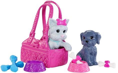 Barbie Doll with Puppy Accessory dogs