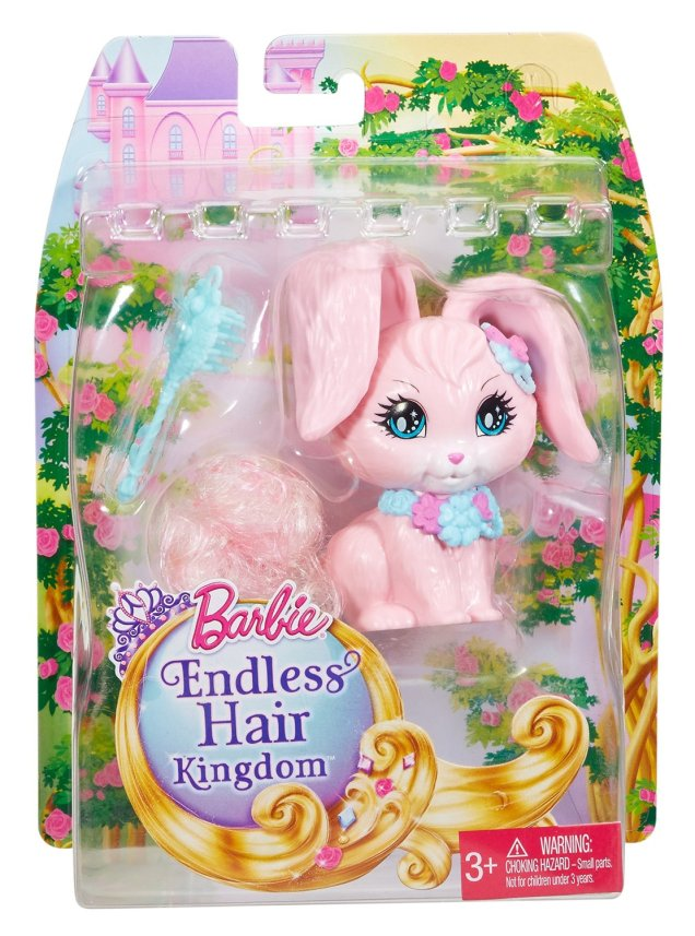 Barbie Endless Hair Kingdom Bunny NRFB