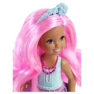 Barbie Endless Hair Kingdom Chelsea Doll - Blue face