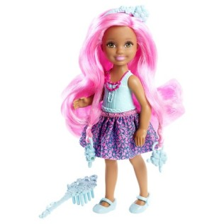 Barbie Endless Hair Kingdom Chelsea Doll - Blue
